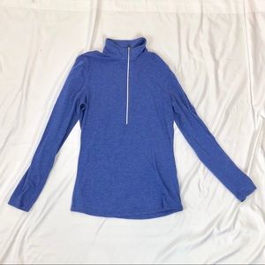 Lucy size S pull over 1/2 zip
